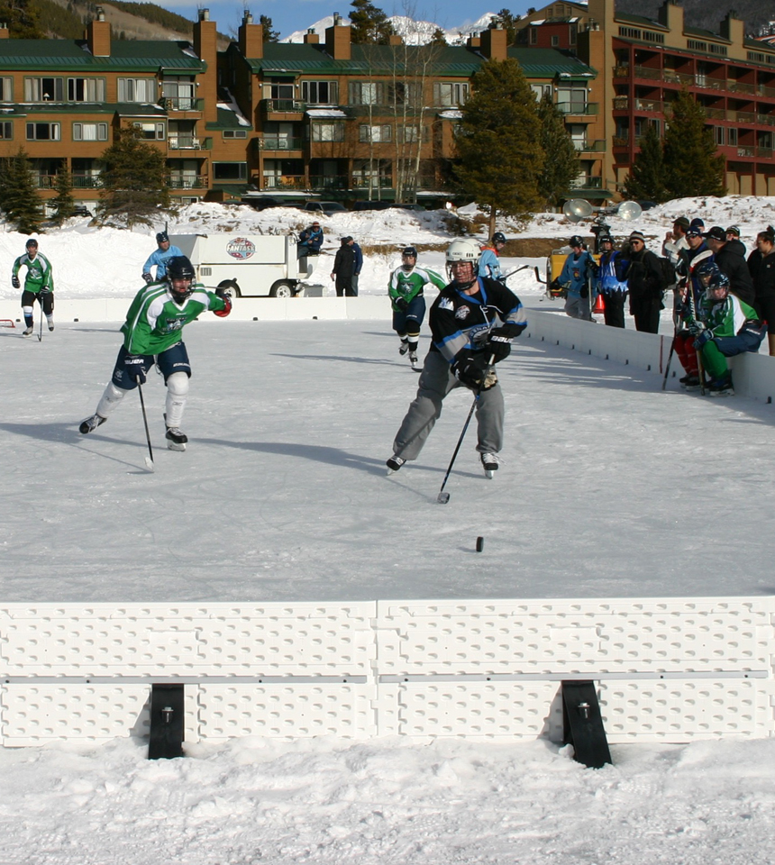 NiceRink on a pond