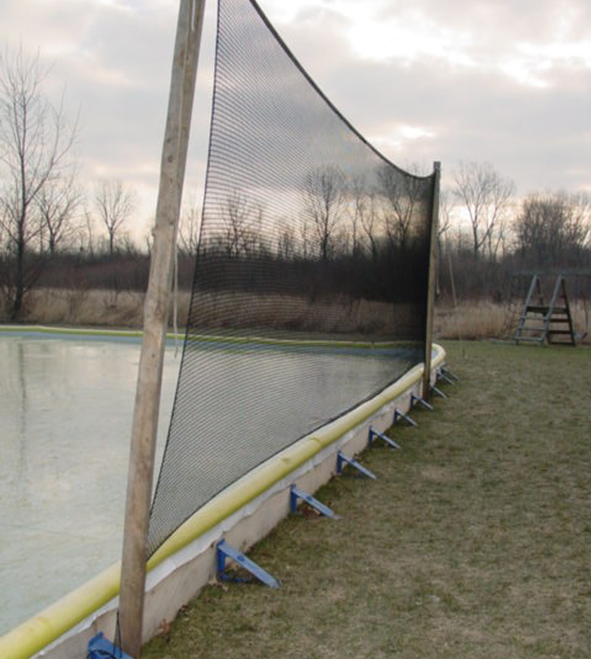 Backyard Ice Rink Liners by NiceRink