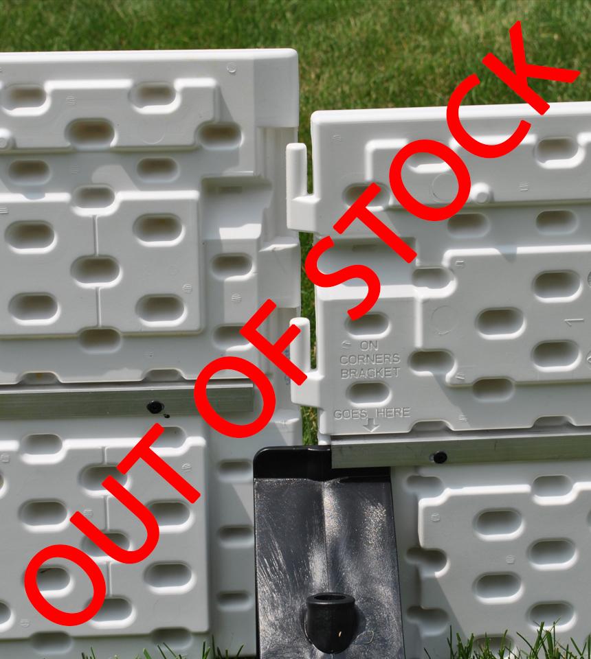 (OUT OF STOCK 20-21)(Grab a SILVER PACKAGE see below) NiceRink Backyard Rink Plastic Boards by NiceRink