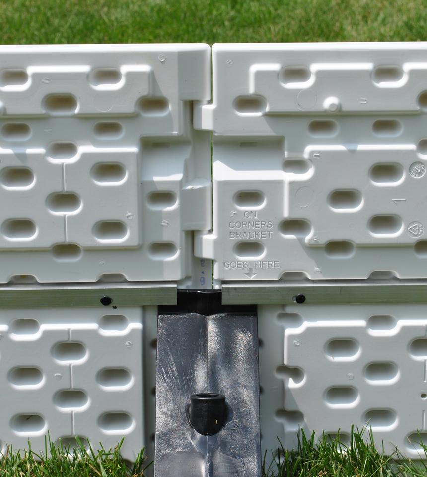 NiceRink Backyard Rink Plastic Boards