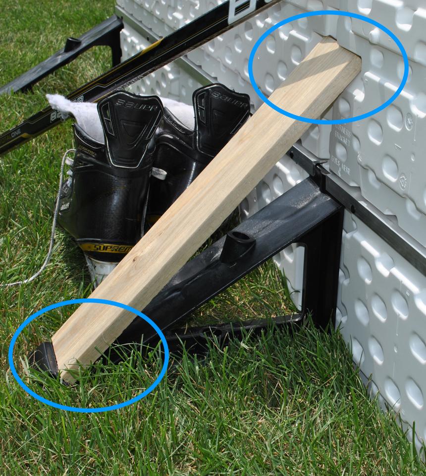 NiceRink Backyard Rink Plastic Board Support