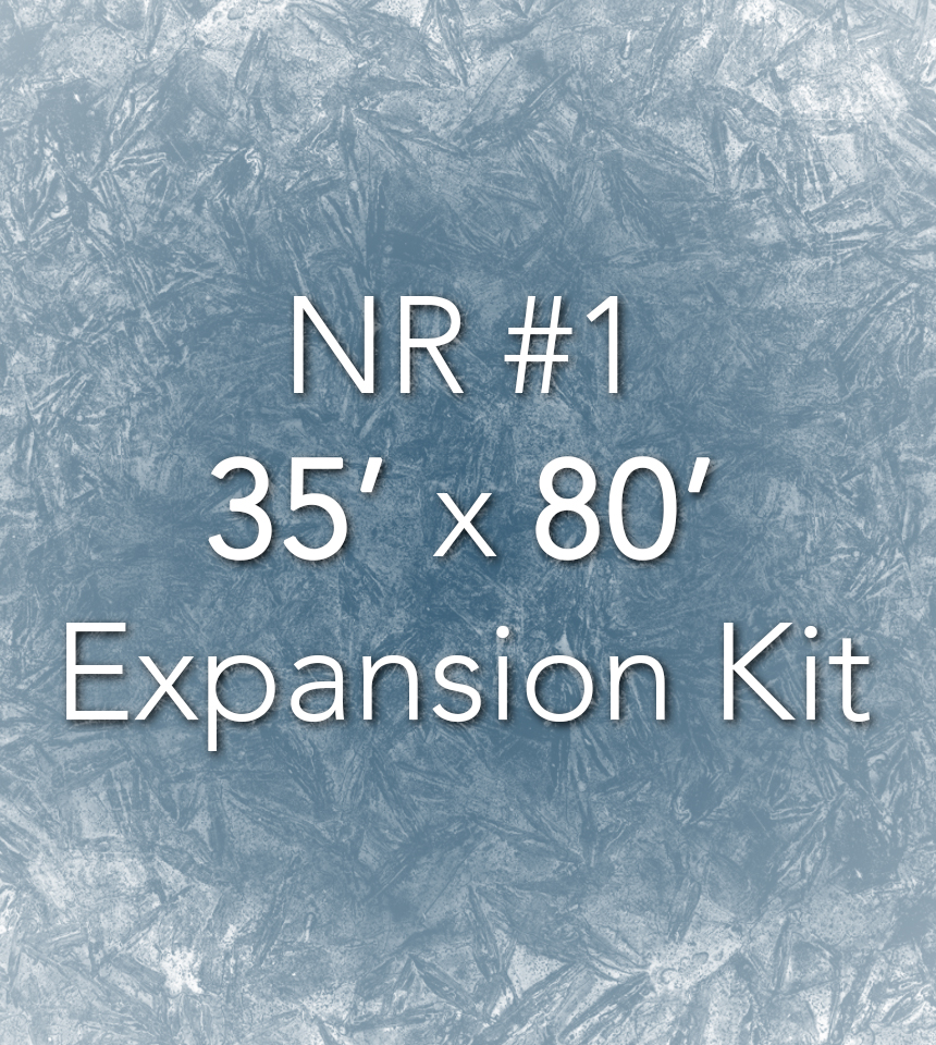 NiceRink 35' X 80' Expansion Kit
