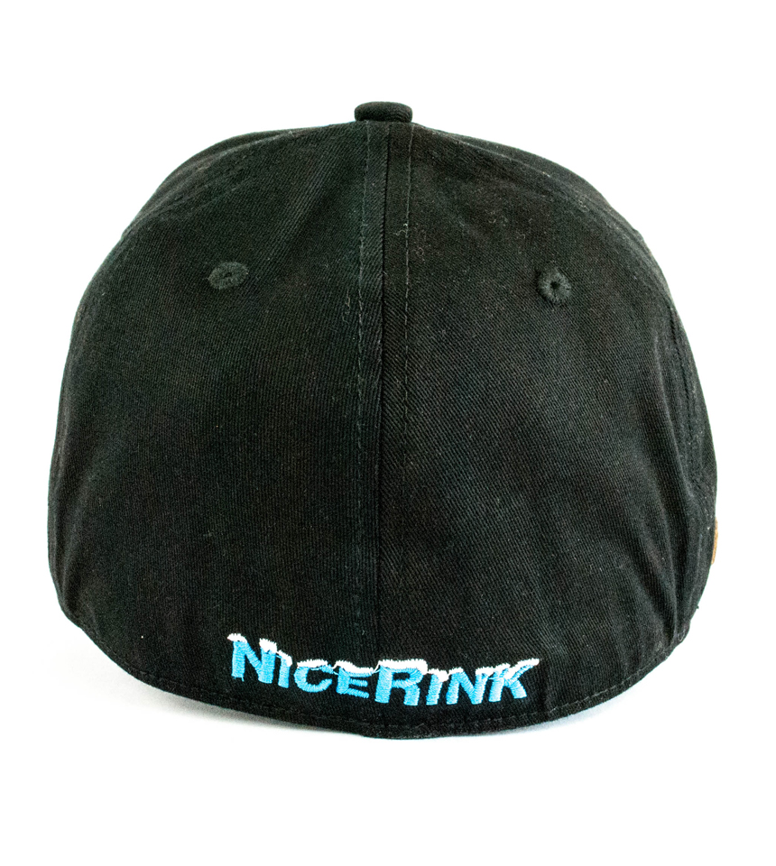 Backside View of Blue/Black Hat by Ricerink