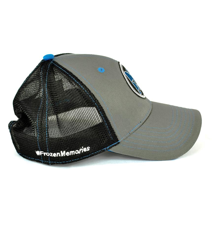 Side view of NiceRink Badge Hat