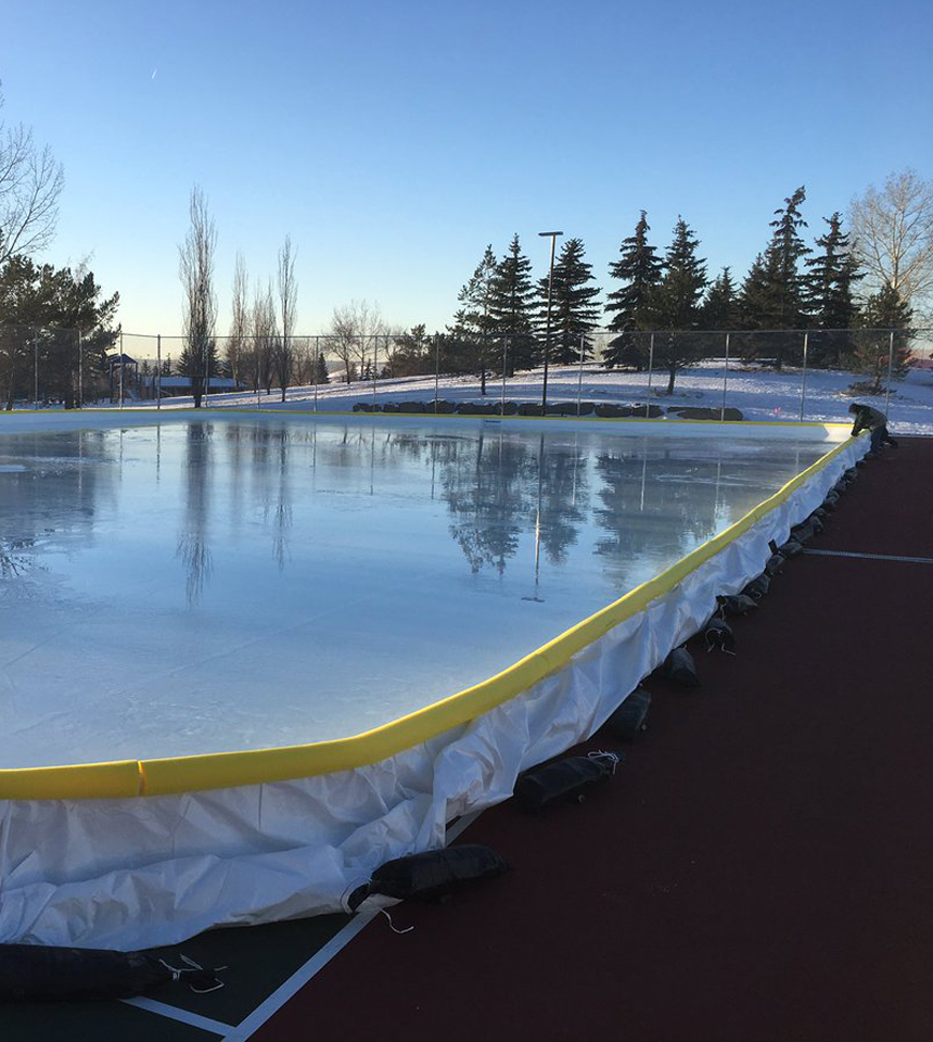NiceRink hard court rink