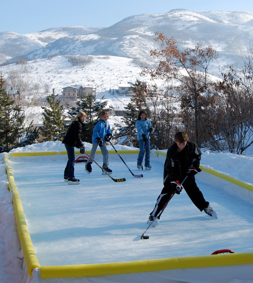 NiceRink Starter Kit Backyard Rink